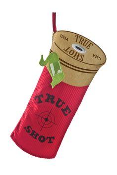 Shotgun Shell Christmas Stocking, NEED
