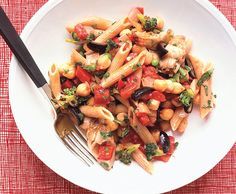 Vegetable and Chickpea Ragout from Epicurious.com #myplate #veggies #protein