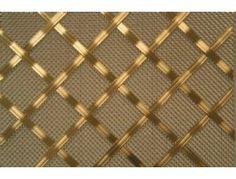 Interwoven decorative grille