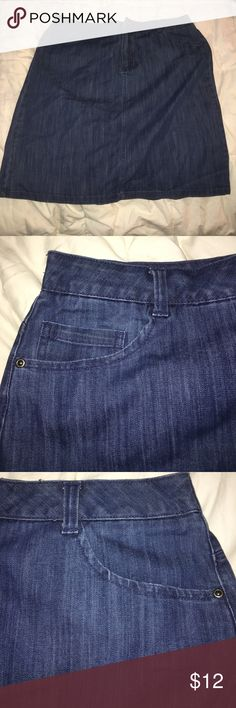 Jean Skirt! Never been worn in New condition! Size XL! Skirts Midi