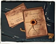 Country/ Rustic Sunflower wedding / Bridal shower by cuteNtrendy
