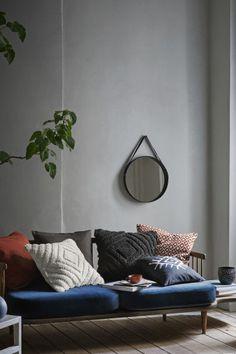 Ronde spiegel - Zwart - HOME | H&M NL