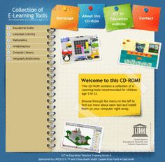 A collection of E-Learning tools free from UNESCO