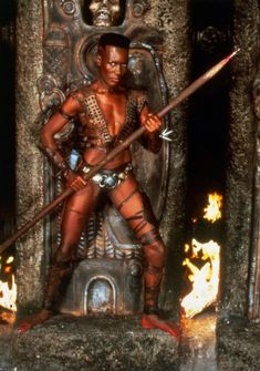 Conan The Destroyer in 1984 -- Aziza in The Navigator? Maybe.