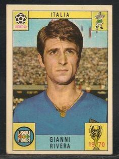 vRARE Panini, MEXICO 70 WORLD CUP,  GIANNI RIVERA, ITALY, 1970, VG/EX    eBay