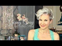 """How to Style """"Fierce"""" Hair When Growing Out an Undercut or Pixie - YouTube"""