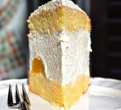 SNIJEŽNA PAHULJA OD SIRA – tako elegantna kremasta poslastica sa aromom limuna ! Vanilla Cake, Cheese, Desserts, Food, Tailgate Desserts, Deserts, Essen, Postres, Meals