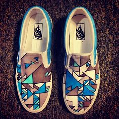 Vans fan .@Joshua Jenkins Davis custom designs a pair for his nephew every year for homecoming. What a lucky guy. Adopt me?