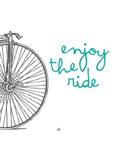 Enjoy The Ride - Love from China - Free Printable