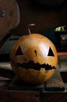 Pumpkin Jack o' Lantern Gourd Halloween Spooky Harvest by ArtDexi, $60.00