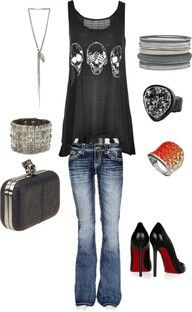 Love all of this minus the heels. I love them but they aren't very practical for me.