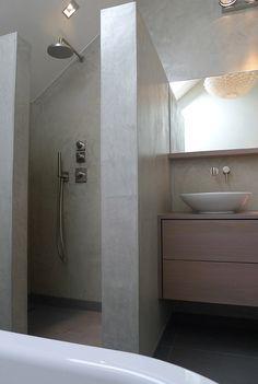 Badkamer Verbouwing Ontwerp: Interieurarchitect, Tuinontwerp, Ontwerpbureau Perceel02 Sittard