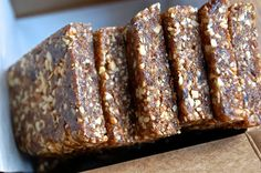 Oatmeal Raisin Energy Bars. Store in the freezer until at least 15 minutes before your ready to consume for optimum freshness. Experiment with the add ins and flavor enhancers for different options!