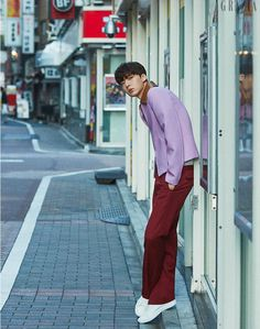 Ahn Jae Hyun traveled to Tokyo for an interview and photo shoot with Grazia, check it out! It's easy to see why this young man was a model first, these shots are gorgeous. Ahn Jae Hyun, You're All Surrounded, Cinderella And Four Knights, My Love From The Star, Model One, Tokyo Travel, Korean Model, Jaehyun, Korean Actors
