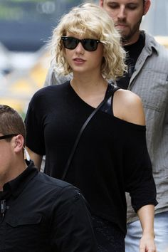 """camilascabello: """" Taylor Swift leaving the gym in New York City on August 8, 2016. """" I like her hair like this"""