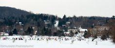 Jan. 2014, Pond Hockey, Haliburton, Ontario.