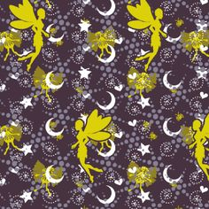 faeries on a midsummer eve fabric by glimmericks on Spoonflower - custom fabric