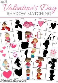Valentines day shadow matching