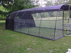 PVC chicken/duck portable coop plans the-animals-pets-in-my-life Portable Chicken Coop, Backyard Chicken Coops, Chickens Backyard, Chicken Garden, Backyard Poultry, Clean Chicken, Chicken Pen, Chicken Wire, Pet Chickens