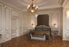 We used incredible chandelier and sconces by Fine Art Lamps to create such a classic royal design. Royal Bedroom, Time Tested, Royal Design, Chandeliers, Sconces, Lamps, Bedrooms, The Incredibles, Interiors