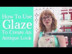 Ideas distressed furniture glaze tutorials for 2019 Glazing Furniture, Chalk Paint Furniture, Oil Painting Supplies, Painting Tips, Annie Sloan Chalk Paint Projects, Glaze Paint, Distressed Furniture, Country Chic, Antiques