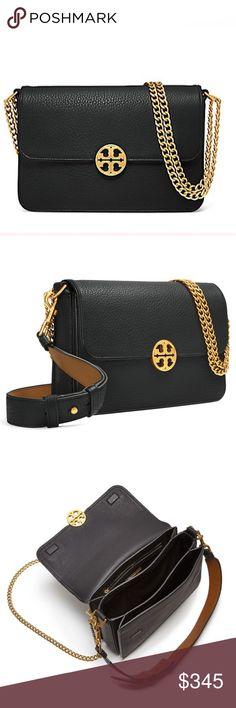 ea7273f34d30 NWT Tory Burch Chelsea Convertible Bag 100% authentic