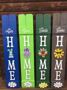 Excited to share this item from my shop: Home Porch Sign with interchangeable attachments / porch sign / interchangeable Diy Wood Signs, Pallet Signs, Rustic Signs, Crafts To Sell, Diy Crafts, Chalk Crafts, Sell Diy, Yarn Crafts, Front Porch Signs