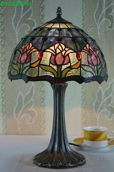 Tulip Tiffany Lamp  12S1-31T325