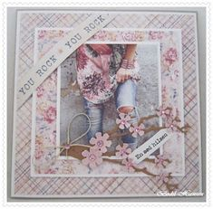 Girl Birthday Cards, Retirement Cards, Shabby, Die Cut Cards, Marianne Design, Anniversary Cards, Vintage Paper, Diy And Crafts, Frame