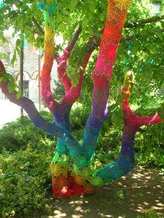 Yarn Bombing - oh my goodness! so creative