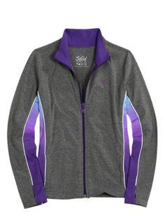 Dye Effect Active Jacket   Girls Sweatshirts Clothes   Shop Justice