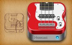 Howcast Bassguitar App Icon