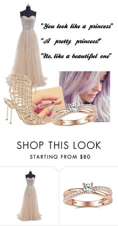 """The beautiful princess"" by justmeandwattpad ❤ liked on Polyvore featuring Sophia Webster, women's clothing, women, female, woman, misses and juniors"