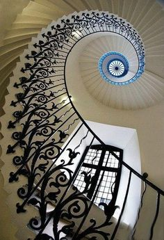 Stairs at Queens House, Greenwich