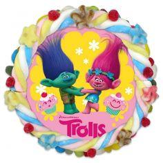 Tarta Chuches Trolls