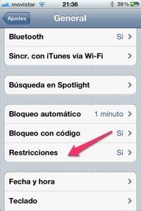 Evita eliminar aplicaciones de forma involuntaria del iPhone