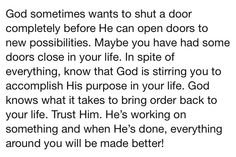 So glad Wes shut that door! I was ready for him to open mine! I couldn't be happier; the love of my life! Td Jakes, I Am Ready, What It Takes, Scriptures, Love Of My Life, Bring It On, Mindfulness, Wisdom, Doors