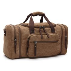 Vintage Canvas Men Travel Bags Women Weekend Carry on Luggage   Bags  Leisure Duffle Bag Large Capacity Tote Business Bolso 1208a55388