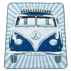 VW Collection by Brisa Picknickdecke, Classic blau