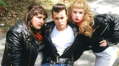 """Cry-Baby (1990) Allison is a """"square"""" good girl who has decided she wants to be bad and falls hard for Cry-Baby Walker, a Greaser (or """"Drape"""" in John Waters parlance). Spoofing Elvis movies and Juvenile Delinquency scare films of the s, this movie follows the adventures of Cry-Baby who, though he is sent to juvie, is determined to cross class (and taste) boundaries to get Allison back."""