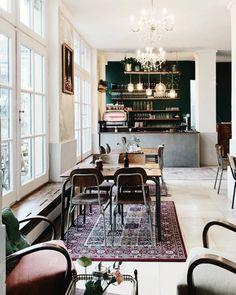 Vienna Picks: Cafe Hildebrandt Wien Volkskunde Museum, The Daily Dose Cafe Design, Vienna, Museum, Table, Furniture, Instagram, Interiors, Home Decor, Movie