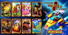 PAC-MAN Cards added to the mobile card game, Outcast Odyssey!