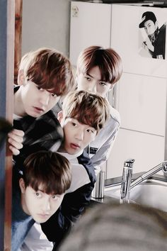 EXO NEXT DOOR | behind the scenes preview photos~