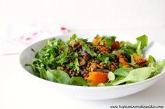 Čočkovo-dýňový salát