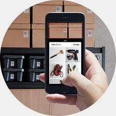 Scan boxes from Quick Peek app Mobile App, Adhesive, Boxes, Organization, Apple, Live, Products, Getting Organized, Apple Fruit