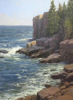 High Surf by Kathleen Dunphy Oil ~ 16 x 12