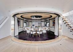 KAHALANI motoryacht deck design von remi tessier