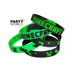 Minecraft Rubber Wrist Band (8)