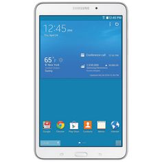 """Samsung Galaxy Tab 4 7"""" 8GB Wi-Fi Tablet featuring Android 4.4 - White Release date 5/01/14 Pre-order now!"""
