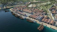 3d reconstruction of Roman Olisipo (Lisbon)